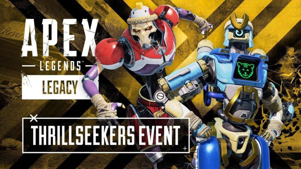Respawn y EA presentaron el nuevo evento de Apex Legends: Thrillseekers 8