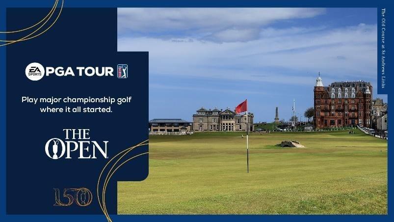 EA y R&A celebran la edición 150 del Open en EA SPORTS PGA TOUR 5